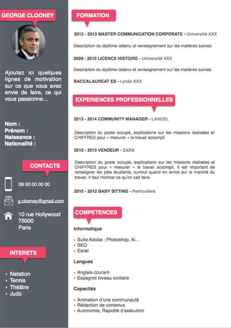 Modele Cv Informatique Word by Model De Cv Gratuit Format Word Model De Cv Gratuit Format