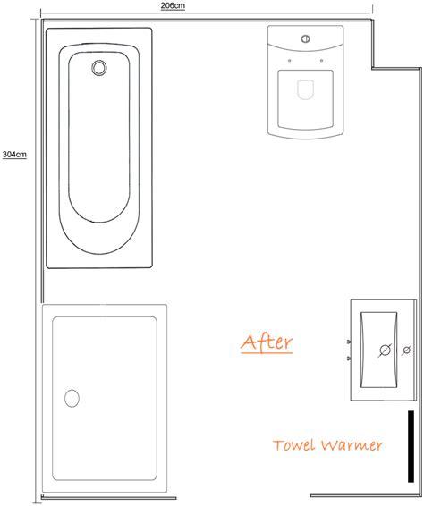 ensuite bathroom floor plans ensuite with bath and large shower enclosure