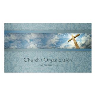 Christrian Free Business Cards Templates by Church Business Cards Templates Zazzle
