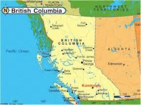 maps kamloops bc canada location of kamloops bc