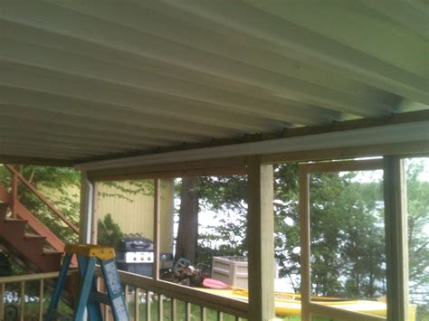 zip up ceiling reviews deck drainage systems decks fencing contractor