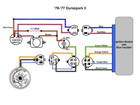 wiring diagram 4 electronic ignition ford truck