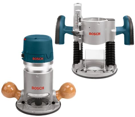 Router Bosch Bosch 1617evspk 12 2 1 4 Horsepower Plunge And Fixed Base Variable Speed Router Kit With 1 4
