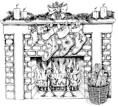 coloring pages hard christmas free christmas coloring page fireplace