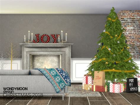 sims 3 christmas decor cc wondymoon s 2018 decorations