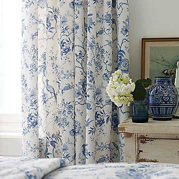 toile de jouy ready made curtains sanderson pillemont lined curtains toile de jouy