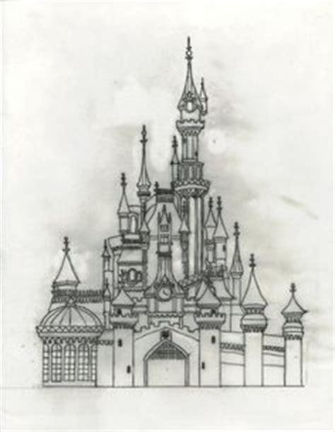 castle of disney world line drawing tattoo inspiration castle of disney world line drawing tattoo inspiration