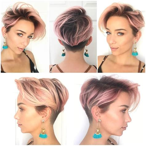 after five short hairdos get this hairstyle http hairstyleology com pink layered