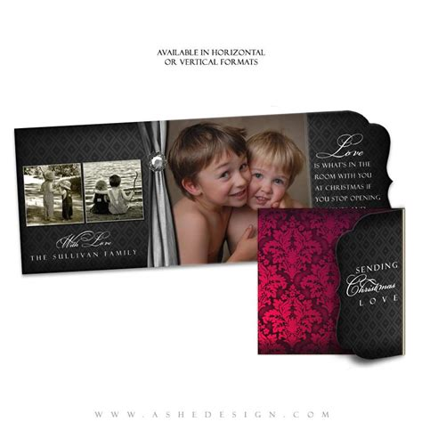folded luxe card template ashe design cheer folded luxe cards ashedesign