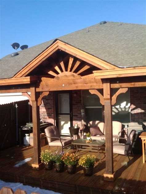gableroofranchstyle patio covers  custom built