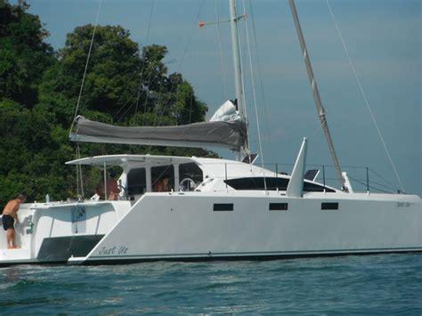 trimaran grainger barefoot 40 cruising catamaran grainger designs