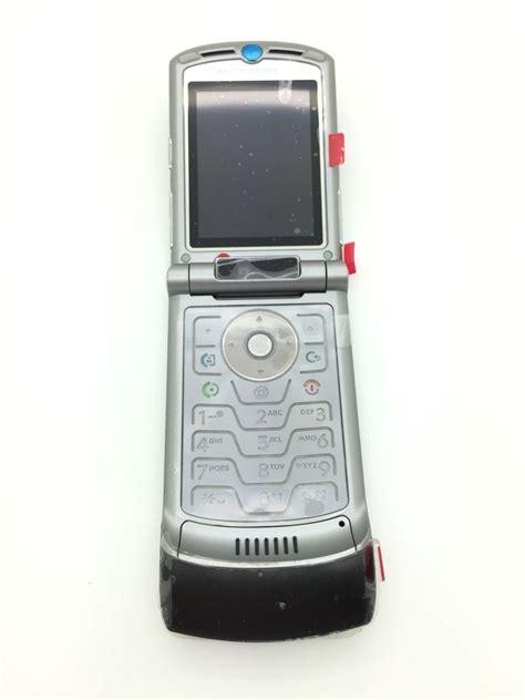 Motorola Razr V3i Brand New Refurbished motorola razr v3i black vintage mobile