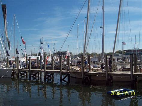 annapolis us boat show report on the us sailboat show in annapolis part 1