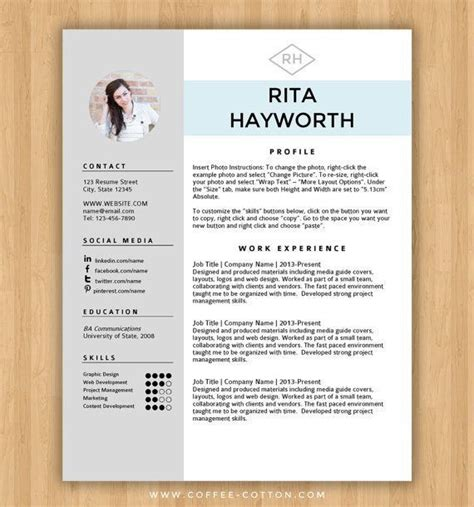Free Cv Templates Microsoft Word by Free Resume Templates Word Template Cv Best 25