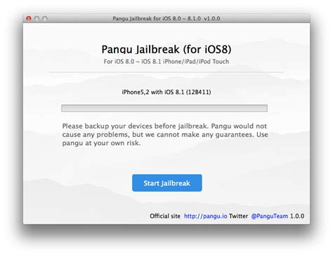jailbreak ios 8 ios 8 1 using pangu on a mac