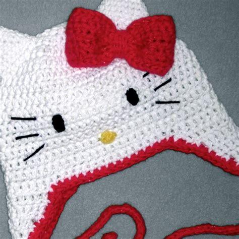 pattern crochet hello kitty hello kitty hat crochet crochet kids beanies pinterest