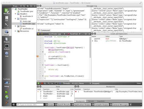 qt tutorial pdf for c qt creator opiniones de qt creator developing widget