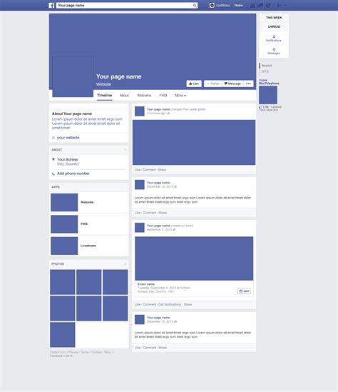 facebook layout free without downloading download 8 free social media website mockups