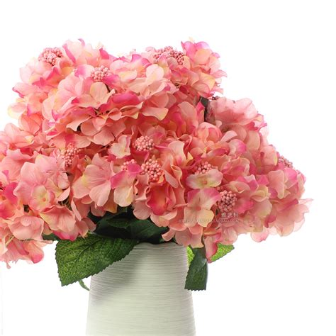 artificial flower decoration for home free shipping 6 fork flower heads per pcs large
