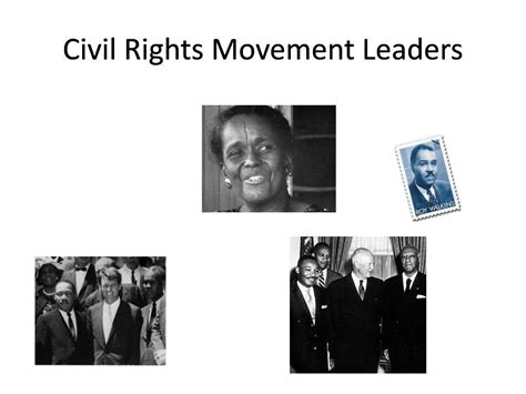 Leaders Of The Civil Rights Movement Essay by American Civil Rights Movement Essay