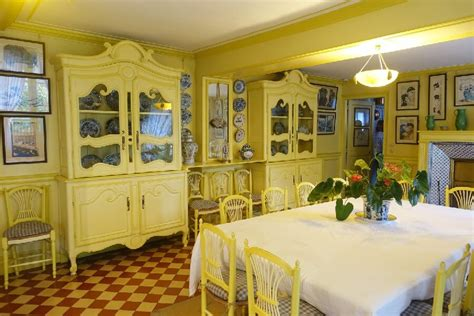 Monet Dining Room by A Day Trip To Giverny From Frugal