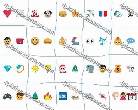 emoji quiz cheats 4 pics 1 word 7 letter word answers 10 holidays oo
