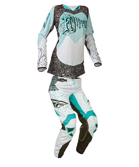 fly womens motocross gear fly racing 2015 kinetic jersey pant gear combo women s