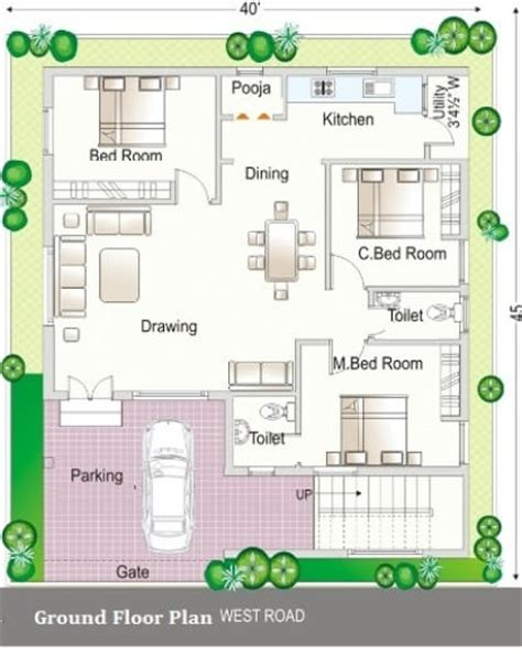 Simplex Floor Plans Simplex House Design Simplex House Simplex House Plans
