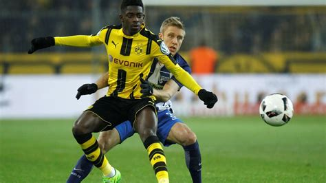 ousmane dembele highlights 2017 ousmane dembele stands out as borussia dortmund beat