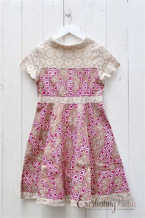Dress Cut Batik Daun Nirwana Cewek Cantik pin by tri wahyuni on batik tenun