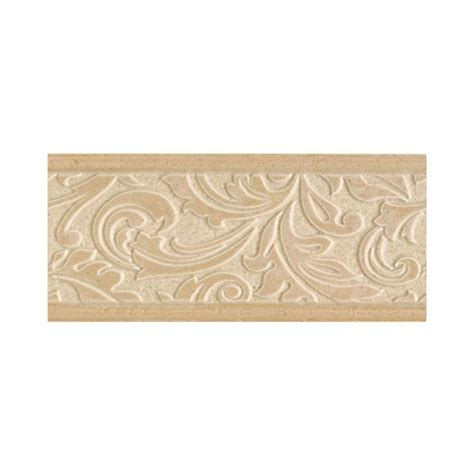 daltile brixton sand 4 in x 9 in ceramic decorative