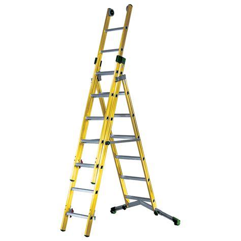 tb davies industrial fibreglass combination ladders tb