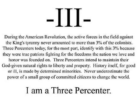 three percenter tattoo i am a three percenter we are the iii