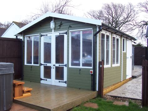 Shed And Summerhouse Combined by Iow Garden Summerhouses Centre Combined Summerhouse Sheds