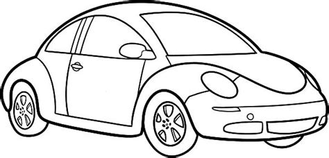 beetle car coloring page vw split coloring pages