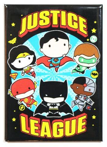 chibi justice league fridge magnet dc comics batman