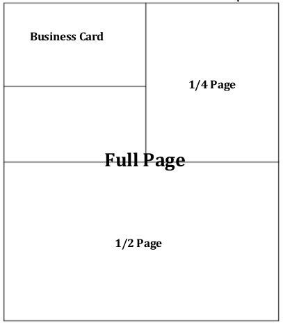 Business Card Size Ad Template by Conference Guide Ads Patients Out Of Time