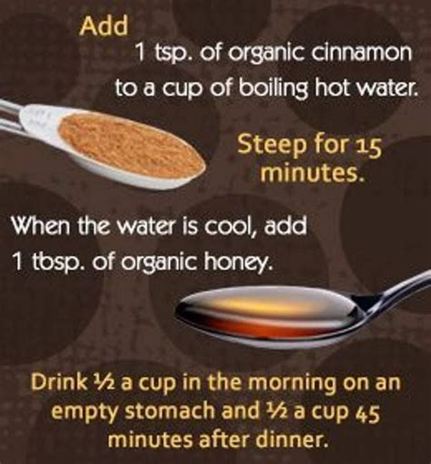 Honey Cinnamon And Water Detox by 17 Best Ideas About Honey Cinnamon Drink On