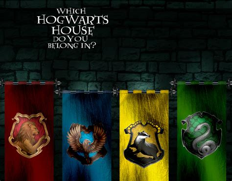 which hogwarts house do you belong in quiz zimbio
