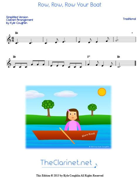 row your boat trumpet row row row your boat simplified version for beginner