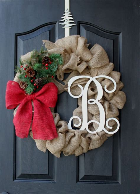 christmas wreath burlap wreath etsy wreath wreaths