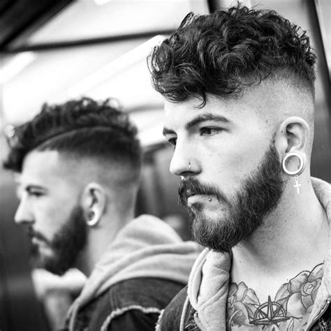best curly hair mens style shaved sides 55 men s hairstyles cool haircuts for 2018