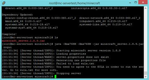 tutorial linux server pdf tutorial how to setup a basic minecraft server linux