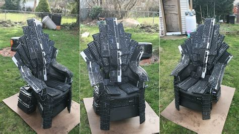 Iron Throne Office Chair by We Should All Fight For This Iron Throne Made From