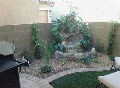 Patio Features Small Backyard Water Features Modern Diy Designs