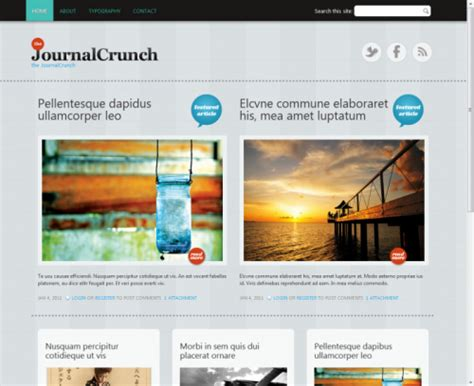 theme drupal gratis 100 best free drupal themes creativefan