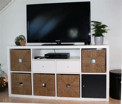 Meuble Tele Ikea 737 by Ikea Kallax Tv Unit With Drawers Basement Remodel