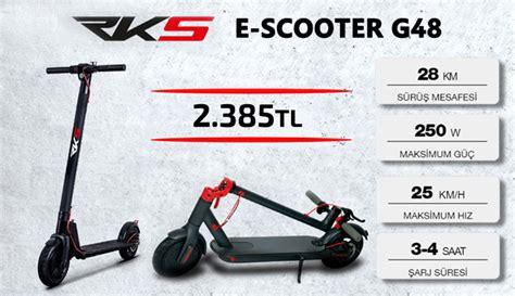 rsk  scooter  blue motorda