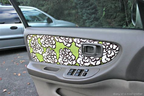 car door upholstery reupholster your car door fabric diary of a mad crafter