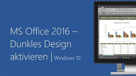 Microsoft Office 10 by Microsoft Office 2016 Dunkles Design Aktivieren Windows 10